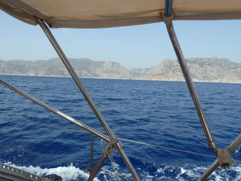 Zeilen Egeïsche zee